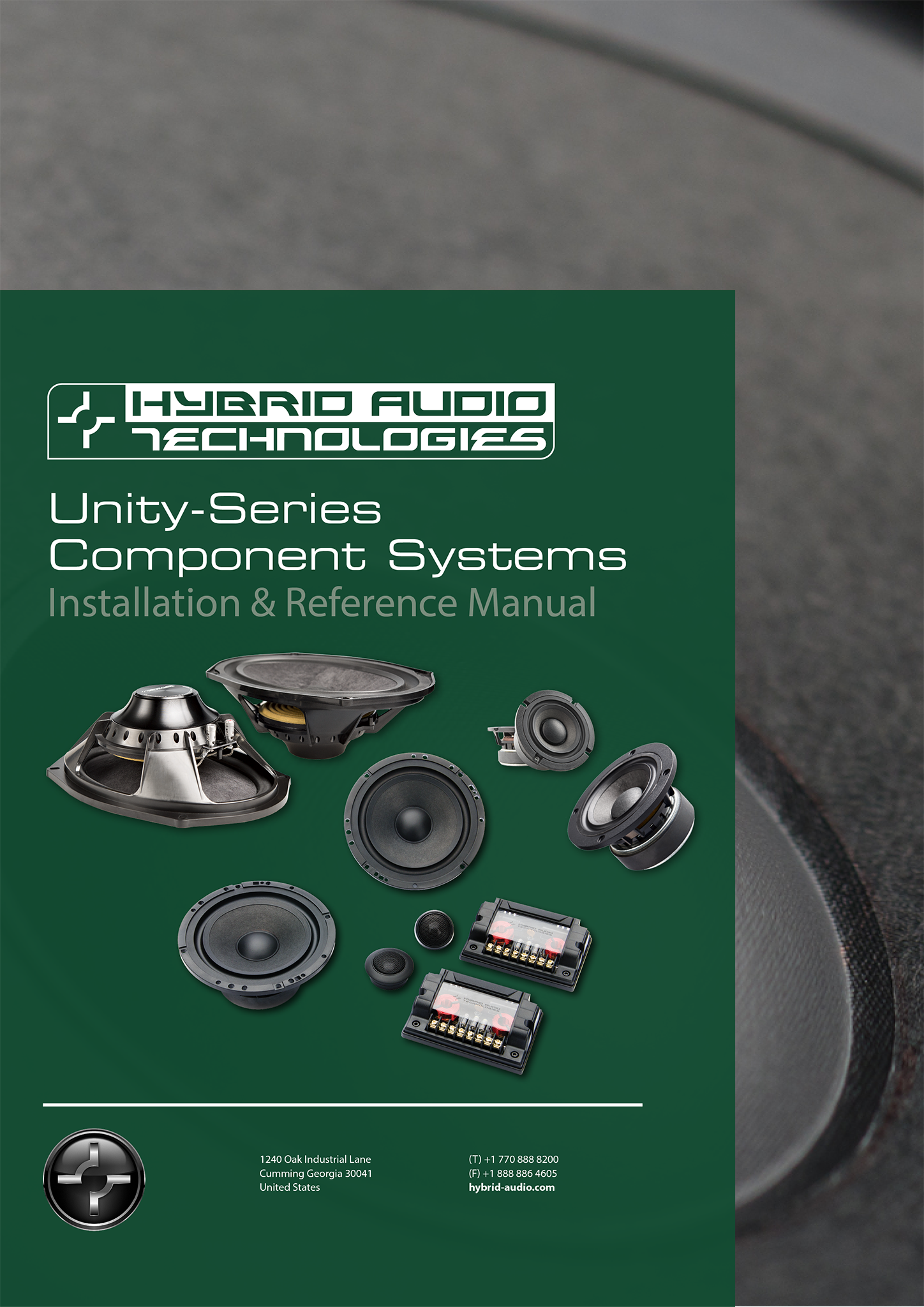 Unity_Speaker_Manual_Cover